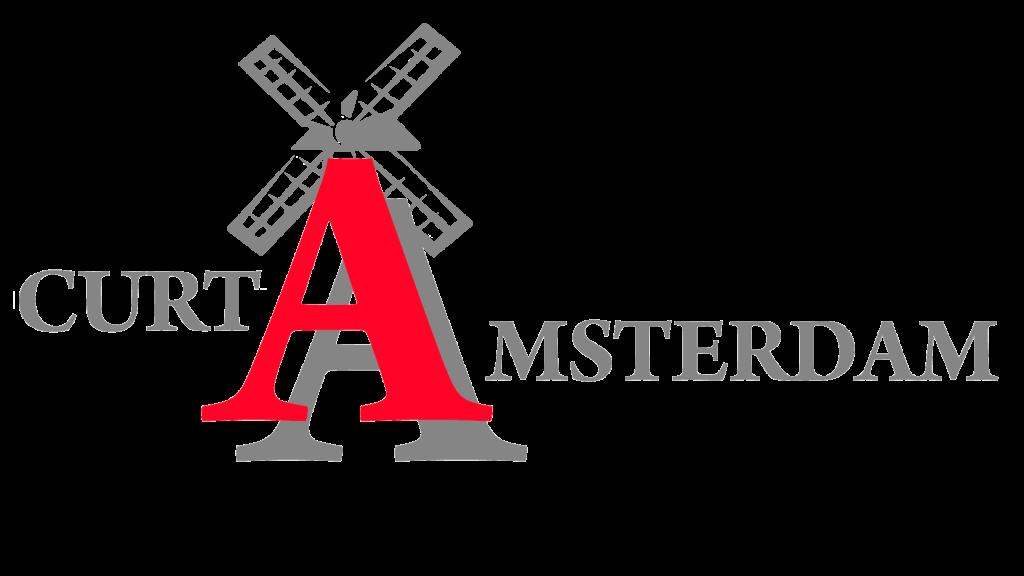 Logotipo Curtamsterdam cor cinza
